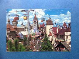 Cartolina Post Card Formato Grande Viaggiata Stati Uniti Usa Walt Disney World Skyway Over Fantasyland - Orlando