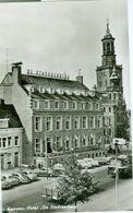 Kampen; Hotel Stadsherberg (oude Auto's) - Niet Gelopen. (van Leer) - Kampen