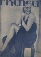 Revue L'HUMOUR  N°880 Du 10 Nov 1933  (CAT 1948) - Boeken, Tijdschriften, Stripverhalen