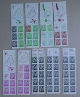 BELGIE   1969/72     Boekjes  1 - 9    (2)    Postfris **    Zie Foto   CW 52,50 - Belgium
