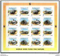 Mali 1998. Michel #1974/77-B MNH/Luxe Klb. WWF. Animals. North African Porcupine. (Ts02) - Mali (1959-...)