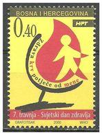 115.BOSNIA & HERZEGOVINA 2000 STAMP  . MNH - Bosnien-Herzegowina