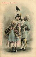 Bergeret * 2 CPA Dos 1900 * Le Menuet * Le Passe Pied Et La Pavane * Danse Danseurs Dancing - Bergeret