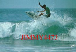 CPM - SURF - COULEURS ET LUMIERE DE FRANCE - Edit. D' Art YVON  - Scans Recto-Verso - Ski Náutico