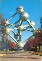 Postkaart Brüssel Bruxelles Atomium Bauwerk 1973 - Belgio