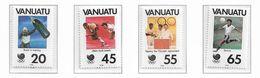 VANUATU ( Série Complète ) JEUX OLYMPIQUES DE SEOUL 1988 - Sommer 1988: Seoul