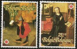 Belgio/Belgium/Belgique: Dipinti, Peintures, Paintings, J. Bosch, D. Bouts, Croce Rossa, Red Cross, Croix-Rouge - Arte