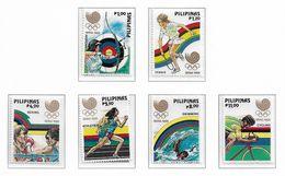 PHILIPPINES ( Série Complète ) JEUX OLYMPIQUES DE SEOUL 1988 - Sommer 1988: Seoul