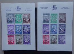 BELGIE 1941     Blokken 10 - 10 A       Postfris **      CW 38,00 - Blocks & Sheetlets 1924-1960