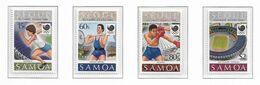 SAMOA ( Série Complète ) JEUX OLYMPIQUES DE SEOUL 1988 - Sommer 1988: Seoul
