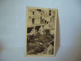 FES MAROC Fès Fas / ⴼⴰⵙ / فاس TANNEURS ET TEINTURIERS  AU TRAVAIL CPA 1937 EDITIONS MARS M FLANDRIN - Fez