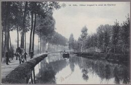 CPA - Hal / Halle - Hâleur Longeant Le Canal De Charleroi  - SBP Bleue N° 14 - 1907 - Halle