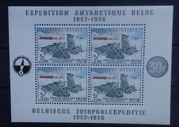 BELGIE 1957     Blok 31   'Zuidpoolexpeditie'    Postfris **     CW  180,00 - Blocks & Sheetlets 1924-1960