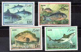 Serie De Argelia N ºYvert 831/34 ** PECES (SHIPS) - Algérie (1962-...)