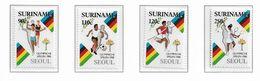 SURINAM ( Série Complète ) JEUX OLYMPIQUES DE SEOUL 1988 - Sommer 1988: Seoul