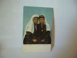 MADCHEN AUS BETHLÉEM FILLES DE BETHLÉEM BETHLÉEM GIRLS Bethléem (ar) بيت لحم CPA - Palästina