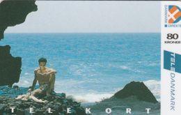 Denmark, CD 001E, 80 Kr. Sea Views, 5.edition, Only 12.000 Issued, 2 Scans.   Nr : 11093428 - Denmark
