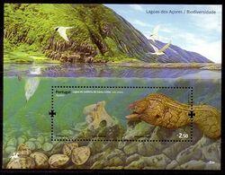 Hoja Bloque De Azores N ºYvert 40 ** PECES (SHIPS) - Açores