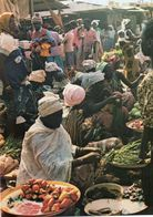 CPSM, Burkina Faso, Koudougou, Le Marché - Burkina Faso