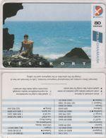 Denmark, CD 001B, 80 Kr. Sea Views, 2.edition, In Plastic Leaflet, Only 9.200 Issued, 2 Scans.   Nr : 11013099 - Denmark