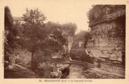 CPA     01   BELLEGARDE---LA PASSERELLE D'ARLOD - Bellegarde-sur-Valserine