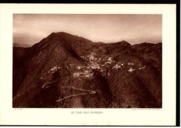 Fiche Année 1934 Série Colonies Indochine Tam Doa Tonkin Vietnam Cliché Aviation Militaire Indochine - Geografia
