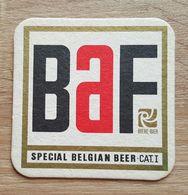 VIEUX SOUS BOCKS BRASSERIE  BAVERY COUILLET BAF SPECIAL BELGIAN BEER - Sous-bocks