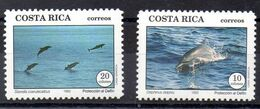 Serie De Costa Rica N ºYvert 564/65 ** PECES (SHIPS) - Costa Rica