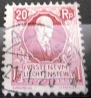 Liechtenstein 1927: 87 Geburtstag Von Fürst Johannes II. Zu W2 Mi+Yv 76 Mit Voll-Stempel MAUREN 21.I.26 (Zu CHF 25.00) - Liechtenstein