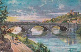 Cartolina - Torino, Ponte. - Bridges