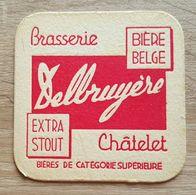 VIEUX SOUS BOCKS BRASSERIE DELBRUYERE CHATELET BIERE BELGE EXTRA STOUT - Sous-bocks