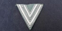 Allemand Ww 2 - Garde Triangle De Caporal - Heer