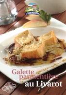 RECETTE DE CUISINE, GALETTE PARMENTIÈRE AU LIVAROT, CARTE VIERGE - Ricette Di Cucina