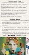Denmark, CD 004, 50 Kr. Call Someone You Love..., 2 Scans.   Please Read - Denmark