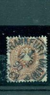 Deutsches Reich, Reichsadler Im Oval Nr. 43 C Gestempelt BPP Geprüft - Used Stamps