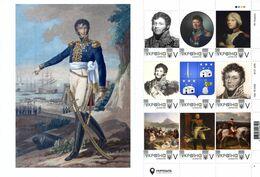 Ukraine 2020, Napoleon Bonaparte General Nicolas Joseph Maison, Sheetlet Of 9v - Ucrania