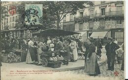 PARIS - TOUT PARIS - Boulevard De Menilmontant - Arrondissement: 20