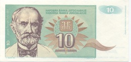 Yougoslavie : 10 Dinara 1994 UNC : Non-Numéroté (prix Par Billet) - Joegoslavië