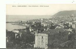 SAN REMO    VUE GENERALE COTE LEVANT - San Remo