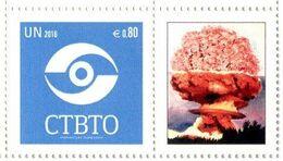 ONU Vienne 2016 - Détaché De Feuille De Timbres Personnalisés - CTBTO Putting An End To Nuclear Explosions ** - Vienna – International Centre