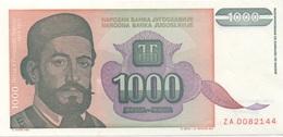 Yougoslavie : 1000 Dinara 1994 UNC - Joegoslavië