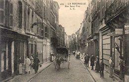 D17 LA ROCHELLE  Rue Saint Yon ........... Avec Calèche ........... Carte Peu Courante - La Rochelle