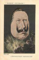 MASQUES SOUVERAINS   L'énigmatique Moustache - Persönlichkeiten