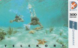 Denmark, CD 003D, 300 Kr. Diving, 4.edition, Only 5.000 Issued, 2 Scans.   Nr : 11134369 - Denmark