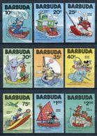 MWD-BK1-039-1 MINT ¤ BARBUDA 1981 9w In Serie ¤ FRIENDS OF WALT DISNEY - DRAWINGS BY WALT DISNEY - Disney