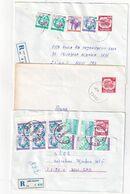 YOUGOSLAVIE      ENTIER POSTAL/GANZSACHE/POSTAL STATIONARY LOT DE 6 LETTRES - Enteros Postales