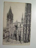 D76D  ROUEN  La Cathédrale 1915 - Rouen