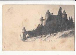 Suisse VD - Château De Granson - Carte Précurseur  - Achat Immédiat - Châteaux