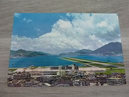 KOWLOON - HONG KONG - AIRPORT - - Cina (Hong Kong)