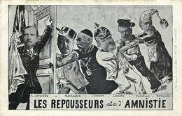 POLITIQUE SATIRIQUE  Les Repousseurs De L'amnistie - Satirische